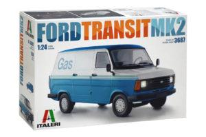 3687 Italeri 1/24 Автомобиль FORD TRANSIT Mk2