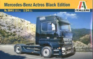 3841 Italeri 1/24 MERCEDES - BENZ ACTROS BLACK EDITION