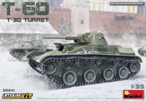 35241 MiniArt 1/35 T-60 (T-30 Башня). С ИНТЕРЬЕРОМ