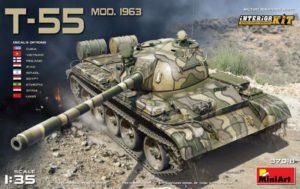37018 MiniArt 1/35 Советский танк Т-55 1963 г. с интерьером